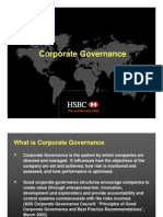 Corporate Governance HSBC
