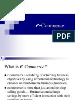 Ecommerce n E-Business