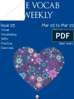 The Vocab Weekly Issue 23