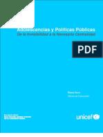 Adolescencias y Politicas Publicas
