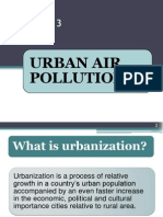(EVT 474)LECTURE 3 - Urban Air Pollution