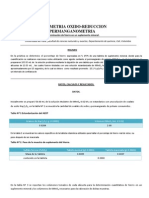 volumetria redox- permanganometria