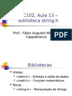 Biblioteca String.h