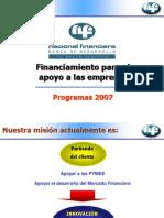 Fuentes de Financ Productos Nafin 200702 Vf