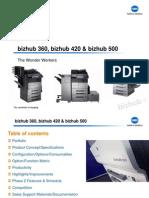Bizhub 360 420 500 Product Presentation