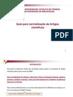 Guia para elaboração de artigos científicos