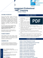 2. Course Description Project Management Professional & PMP Coaching En