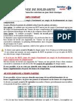JOURNEE DE SOLIDARITE