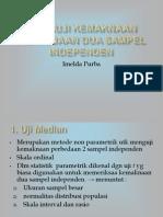 Uji Median