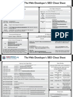 The Web Developer's SEO Cheat Sheet