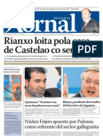 Xornal de Galicia - Número 1 - 9 de Decembro de 2008