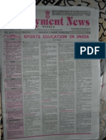 Employment News Online e paper | Rojgar Samachar | रोजगार समाचार New Delhi Edition 31 March - 6 April 2012 Vol. XXXVI No. 53 (Searchable PDF format)