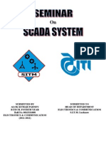 Seminar Report on SCADA System