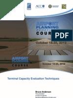 ACRP Anderson Terminal Capacity