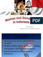 Women and Democracy