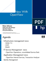 Whats Mew With OpenView