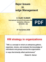 Knowledge Management Issues