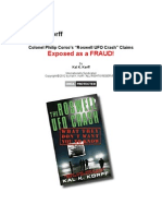 Philip Corso's Roswell UFO Crash Claims Exposed