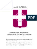 Andre KARQUEL — Croix Blanche Universelle