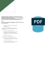 cálculo para aplicação de LGE