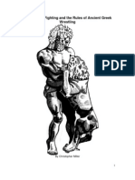 Submission Fighting and the Rules of Ancient Greek Wrestling (Pale)- Christopher Miller