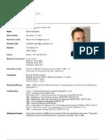 MaRe CV en Webpage 2012-04-01