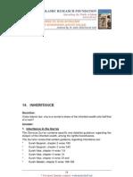 Inheritance by Dr. Zakir Naik