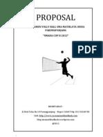 Proposal Turnamen VOLLY