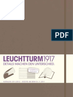 Leuchtturm 1917 Catalogue / Katalog 2012