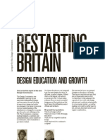 Design Commission - Restarting Britain - Design Education and Growth