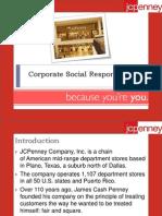 CSR activities of JCPenny