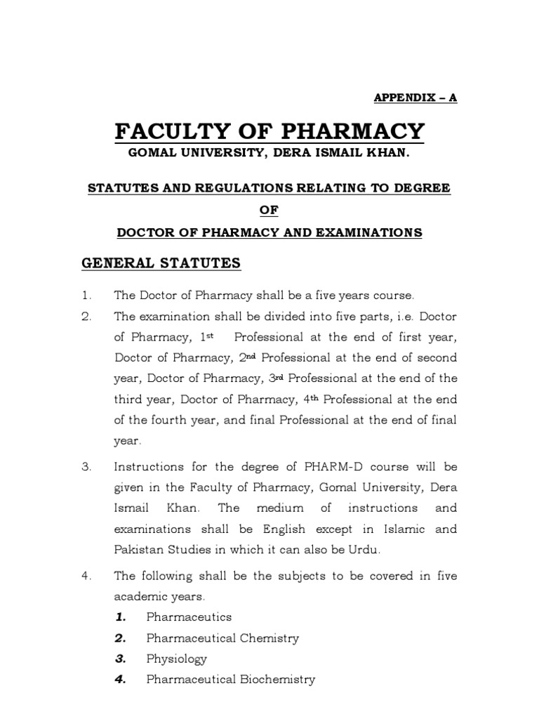 Pharm d Syllabus | Topical Medication | Metabolism
