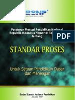 Permen Standar Proses No 41