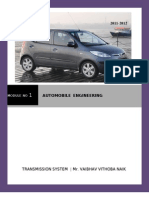 MODULE NO 1 :AUTOMOBILE ENGINEERING  (MUMBAI UNIVERSITY )