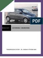 MODULE NO 1 :AUTOMOBILE ENGINEERING  (MUMBAI UNIVERSITY )