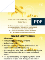Issuing Equity Shares