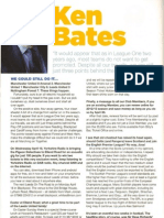 Ken Bates Programme Notes Leeds United Vs Watford 31.3.12 P1
