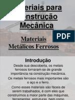 Materiais para Construção Mecânica