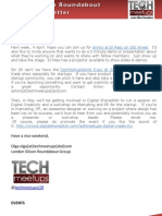 London Silicon Roundabout Weekly Newsletter 30-Mar-2012