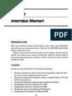 Bab7 Interface Memori