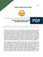 Documento Congressuale Pelloni 2012