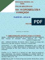 Hidrogeologia Avancada Parte II - Aula 01- Conceitos