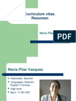 C.V.Resumen.Maria Pilar Vazquez