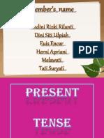 Simple  Present  Tense dan Present Continuous  Tense