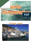 Water Transportation  - file size 3795 kb