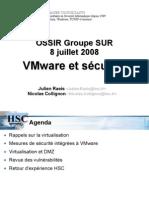 virtualisation & sécurité vm