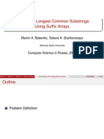 Longest Common Substring