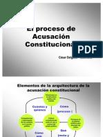 CDG - El proceso de acusación constitucional en el Perú (3 Dic. 2008)