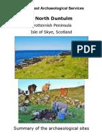 Duntulm Skye Archaeology