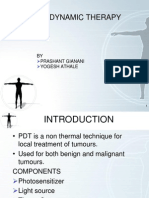 Photo Dynamic Therapy